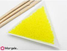 Toho rotunde 11/0 transparent frosted lemon (5g)