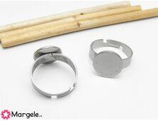 Baza de inel reglabila otel inoxidabil platou 12mm