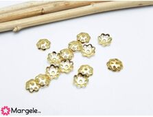 Capacele otel inoxidabil auriu 6mm (1buc)