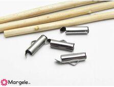 Capat miyuki/toho slide tube otel inoxidabil 13x5.5x4mm (2buc)