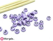 Margele acrilice 7x4mm (10buc)