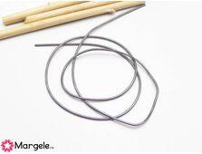 Sarma french wire mediu 0.9mm gri