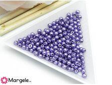 Margele cehia rotunde 3mm metallic crocus petal (10buc)