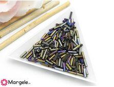 Margele de nisip 6mm bronz iris (10g)