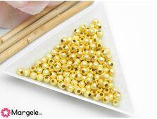 Margele decorative 4mm auriu (10buc)