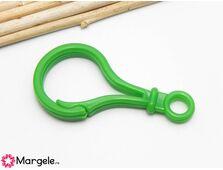 Clipsuri plastic 50x25mm verde (1buc)