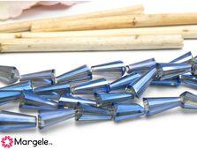 Cristal conic 12x6mm albastru (1buc)