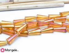 Cristal conic 12x6mm rose gold (1buc)