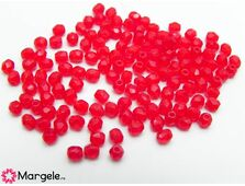 Fire polish 3mm opal red (20buc)