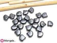 Ginkgo 7.5mm hematite (10buc)