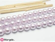 Perle tip mallorca 8mm liliac (1buc)