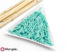 Toho bugle 9mm opaque turquoise (5g)