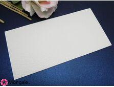 Imitatie piele adeziva 20x10cm alb