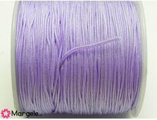 Snur cu nylon pentru bratari 0.8mm lila (1m)