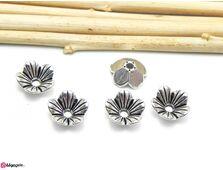 Capacele argintii 10x3mm (10buc)