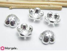 Capacele argintii 13x5mm (1buc)