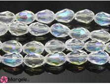 Cristal picatura 11x8mm transparent ab