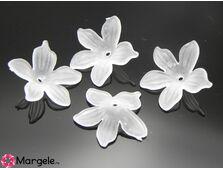 Margele acrilice floare 20x5mm (1buc)