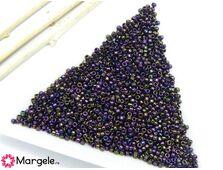 Toho rotunde 15/0 metallic iris purple (5g)
