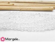 Cristale biconice 2.5mm transparent (10buc)