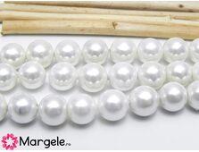 Perle tip mallorca 8mm albe (1buc)