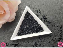 Miyuki delica 11/0 opaque black (5g)