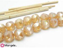 Cristal rotund 9mm silk (1buc)