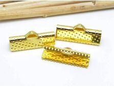 Capat de snur 20x8x5mm auriu (2buc)