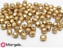Fire polish 3mm aztec gold (20buc)