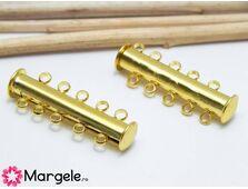 Inchizatoare magnetica cu 5 bucle 31x10x6mm auriu