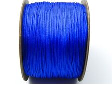 Snur cu nylon pentru bratari 0.8mm albastru royal (1m)