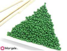 Toho rotunde 11/0 opaque pine green (5g)