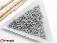 Toho rotunde 8/0 opaque gray (5g)
