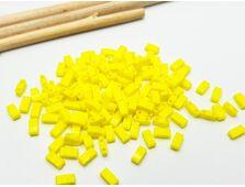 Miyuki Half Tila Opaque Yellow 5g