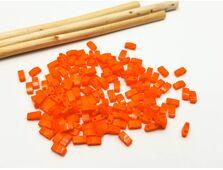 Miyuki Half Tila Opaque Orange 5g