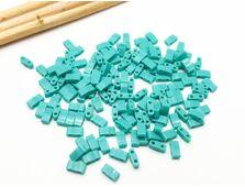 Miyuki Half Tila Opaque Turquoise Green 5g