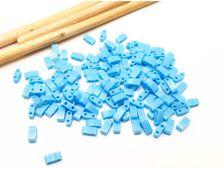 Miyuki Half Tila Opaque Turquoise Blue 5g