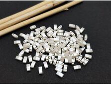 Miyuki Half Tila Ivory Pearl Ceylon 5g
