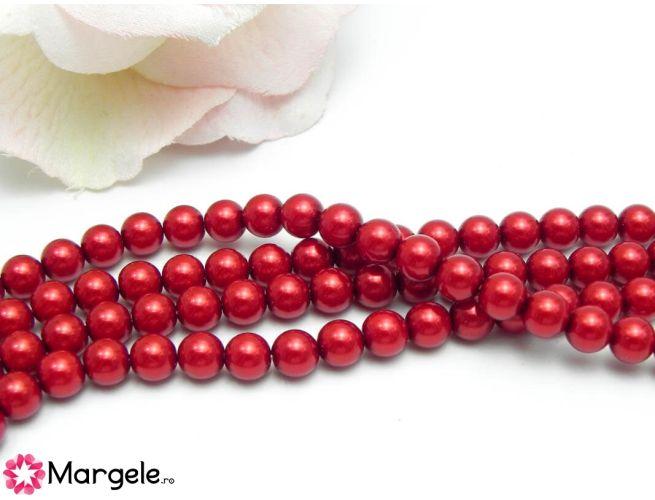 Perle preciosa maxima 6mm red (1buc)