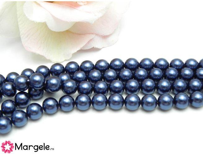 Perle preciosa maxima 8mm blue (1buc)