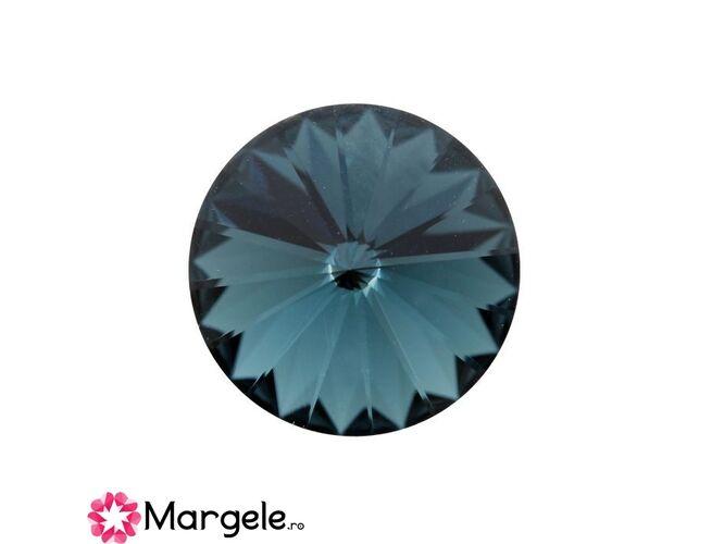 Cristal preciosa rivoli maxima ss47 - 10mm montana (1buc)