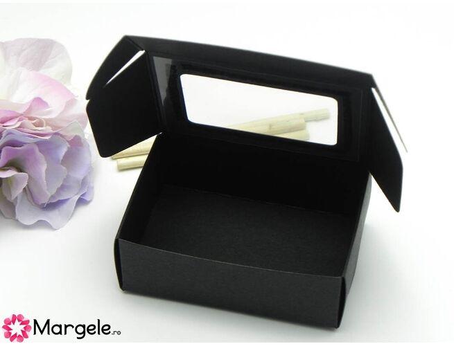 Cutiuta carton 82x60x30mm negru