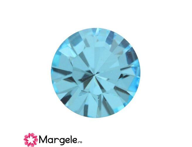 Cristal preciosa chaton maxima ss39 - 8mm aqua (1buc)