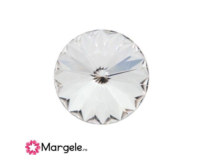 Cristal preciosa rivoli maxima ss47 - 10mm crystal (1buc)