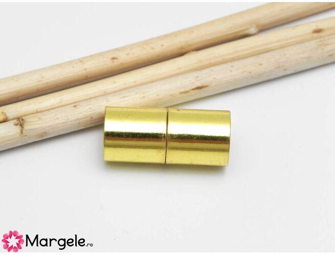 Inchizatoare magnetica 20x9mm auriu
