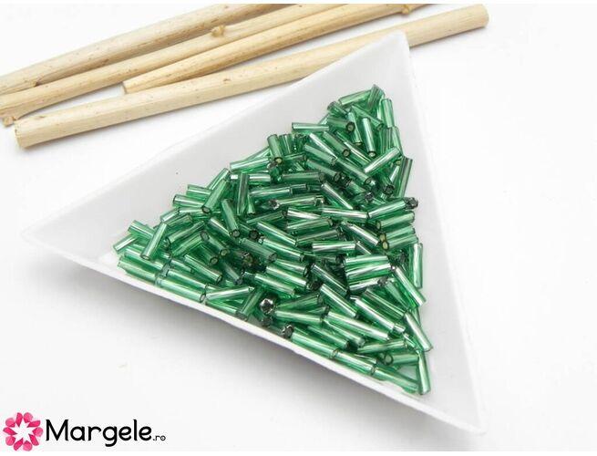 Margele de nisip 6mm verde (10g)