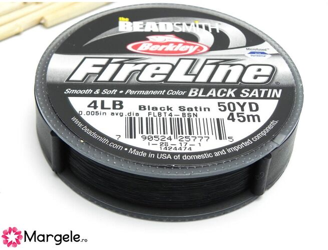 Fireline black 4lb (45m)