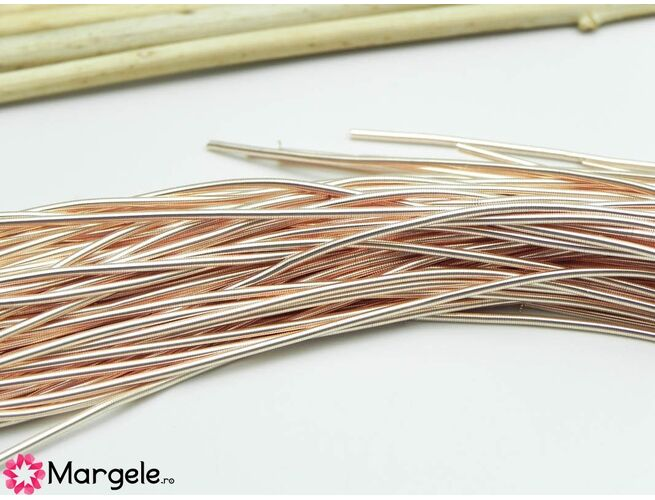 Sarma french wire mediu 0.9mm rose gold