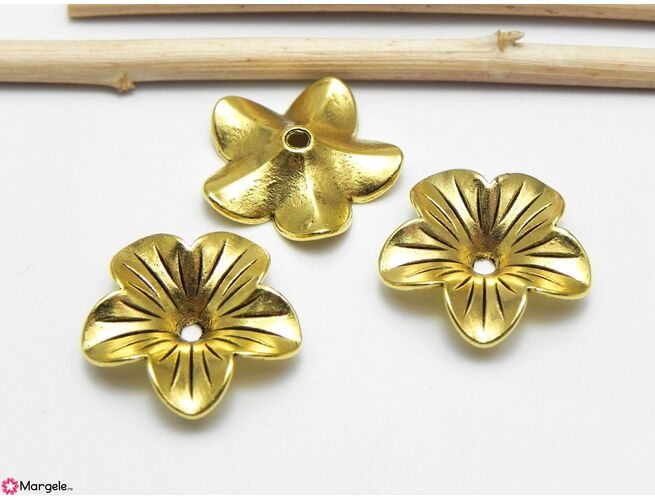 Capacele aurii 18x5mm (1buc)