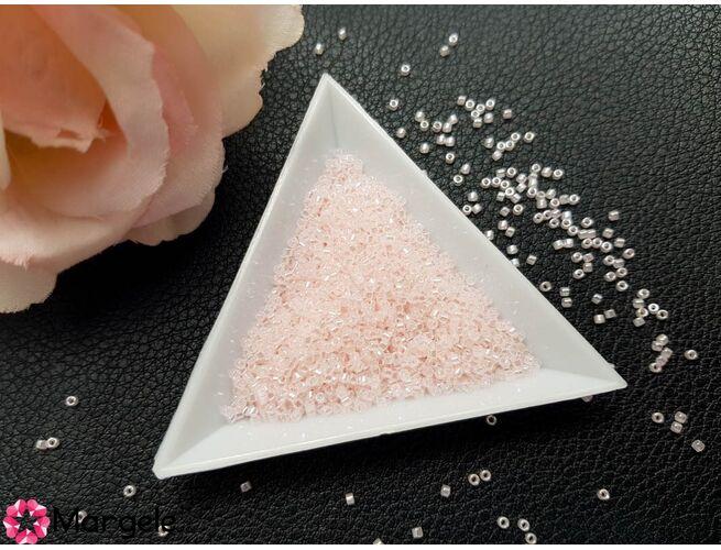 Miyuki delica 11/0 linded crystal pale salmon (5g)